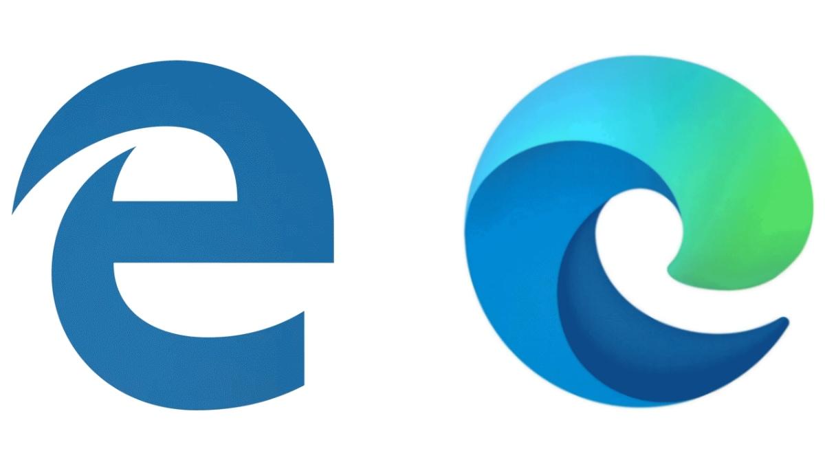 microsoft edge old new logo Microsoft Edge