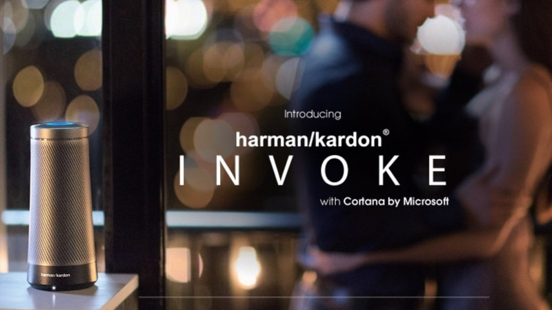 Harman Kardon's Cortana-Powered 'Invoke' Speaker Revealed on Company Site