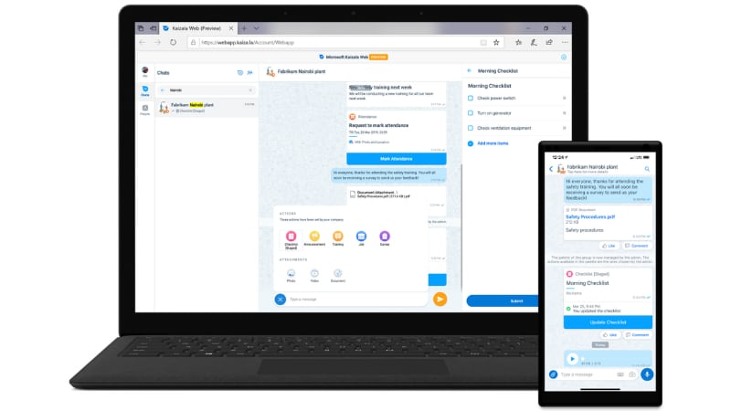 Microsoft Kaizala App Set to Be Integrated Within Teams, Goes Global Through Office 365