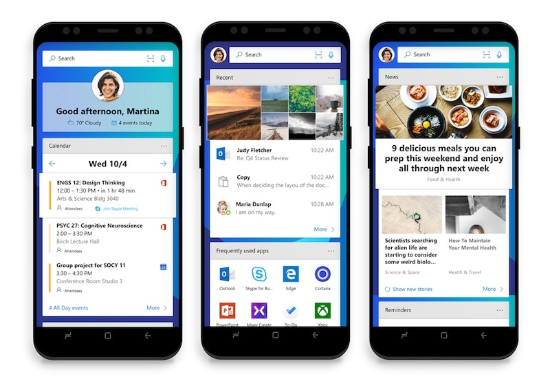 microsoft launcher android Microsoft Edge  Web Browser  Edge  Continuum  Windows 10  Microsoft  Apps  Android  iOS