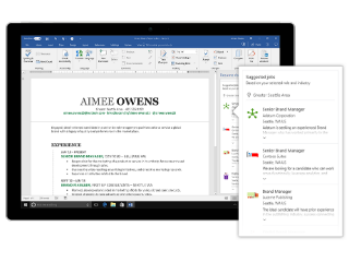LinkedIn-Powered Resume Assistant for Office 365 Now Available to All