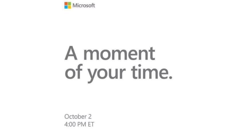 microsoft october 2 event invite cnet Microsoft