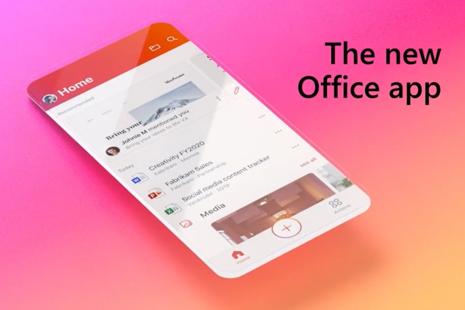 Microsoft Office App Now Available for iOS, Combines Word, Excel, and PowerPoint