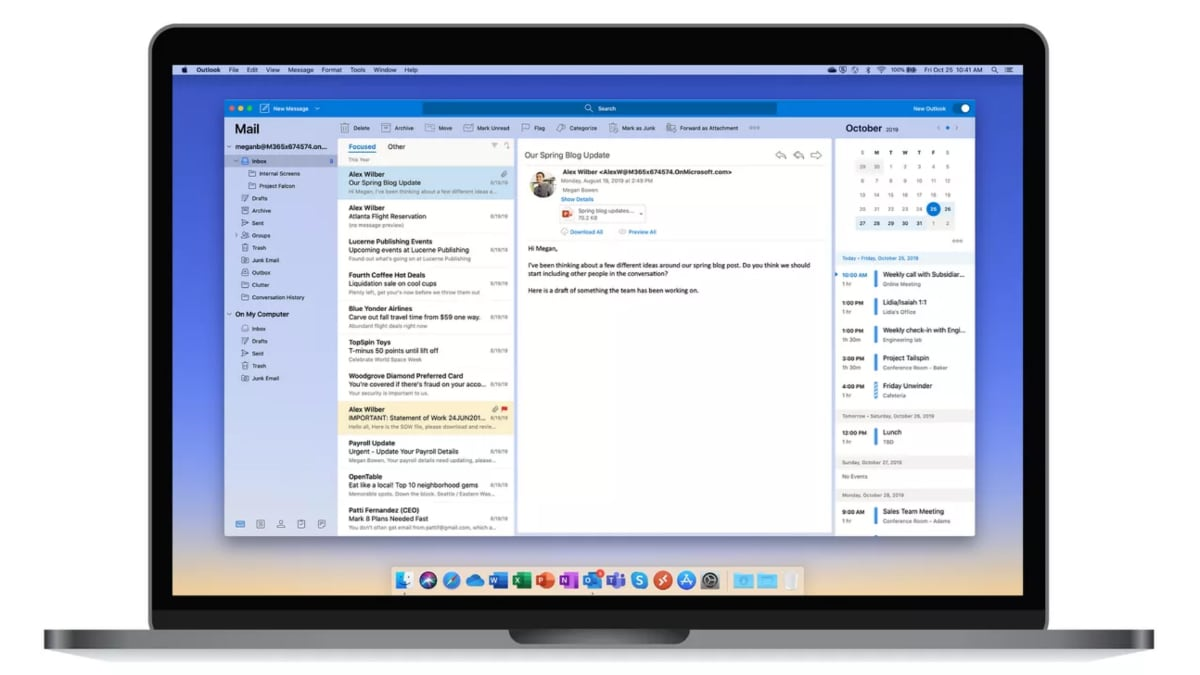 microsoft outlook for mac the verge Microsoft Outlook  Outlook for Mac