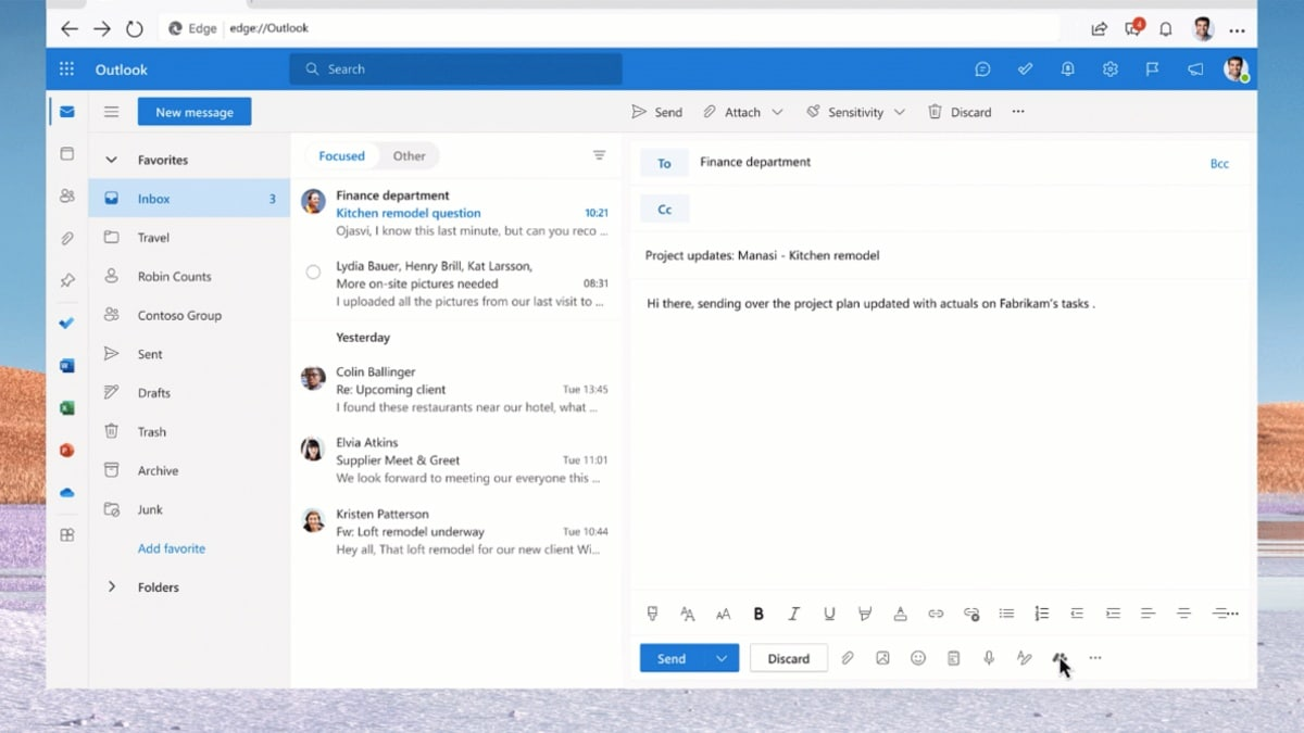 microsoft outlook message extensions image Microsoft Outlook  Microsoft