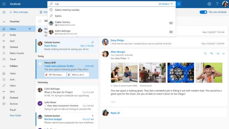 Microsoft Outlook Redesign Now Available for Trial on Outlook for Windows and Outlook on the Web