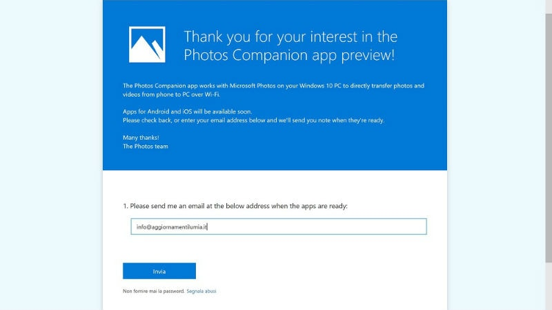 microsoft photos companion app Windows 10 Photos Companion app  Photos Companion app  Windows 10