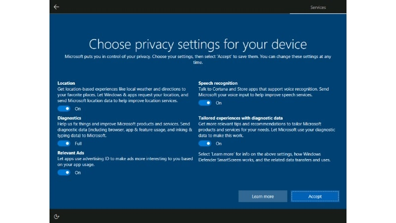 microsoft privacy settings story2 Microsoft Privacy Settings