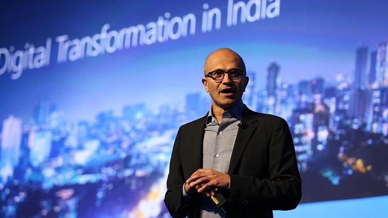 Microsoft CEO Satya Nadella Says 'Project Sangam' Will Commence in Andhra Pradesh