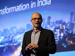 Microsoft CEO Satya Nadella Says Kaizala App, Office 365 Helping Indian Firms Go Digital