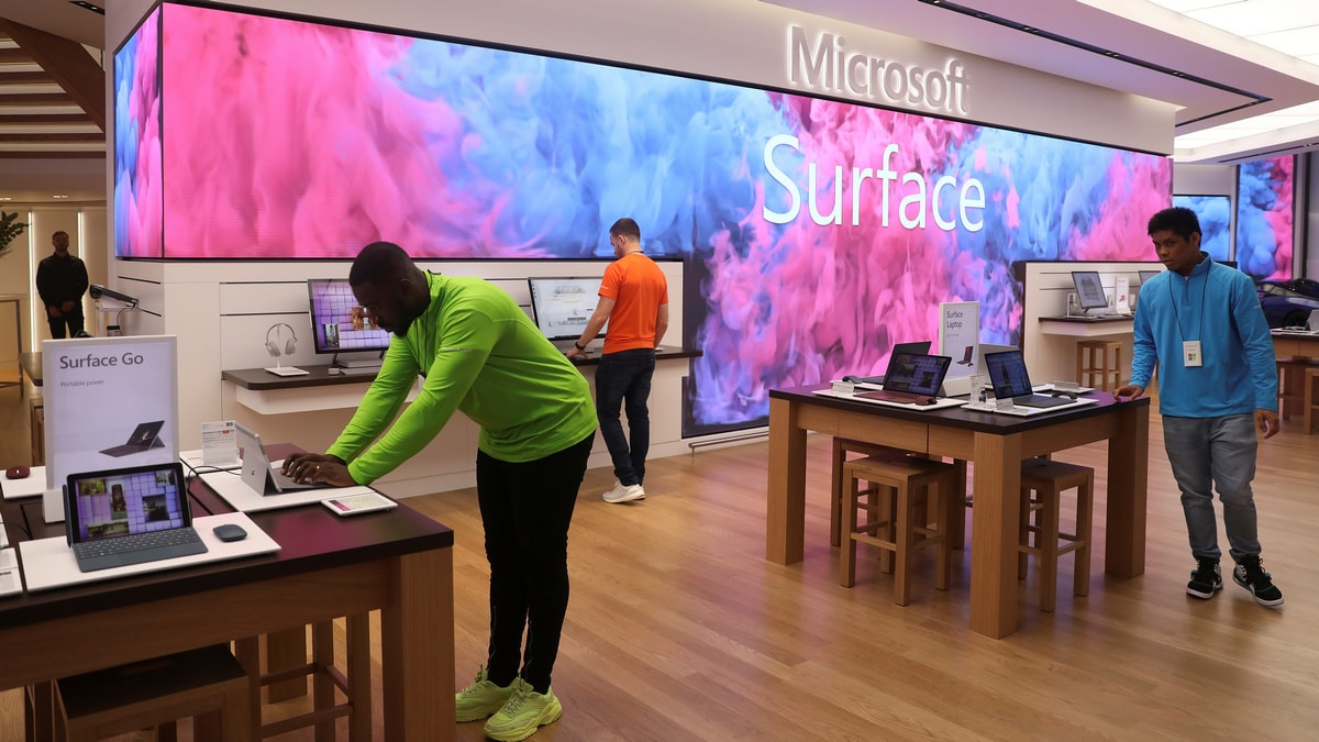 Microsoft Opens First European Store in London's West End
