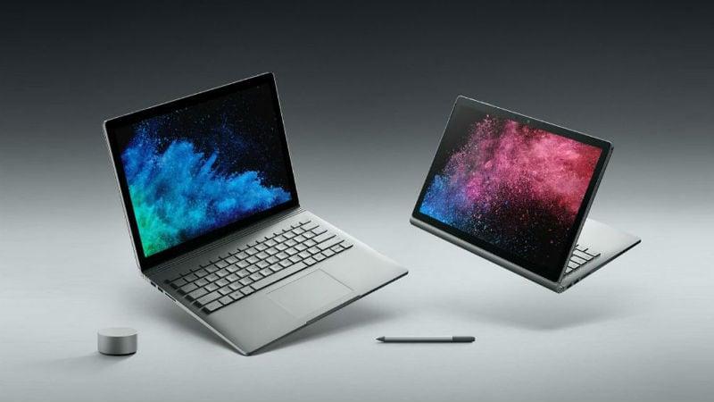 Microsoft Surface Book 2, Surface Laptop भारत में लॉन्च, कीमत 86,999 रुपये से शुरू