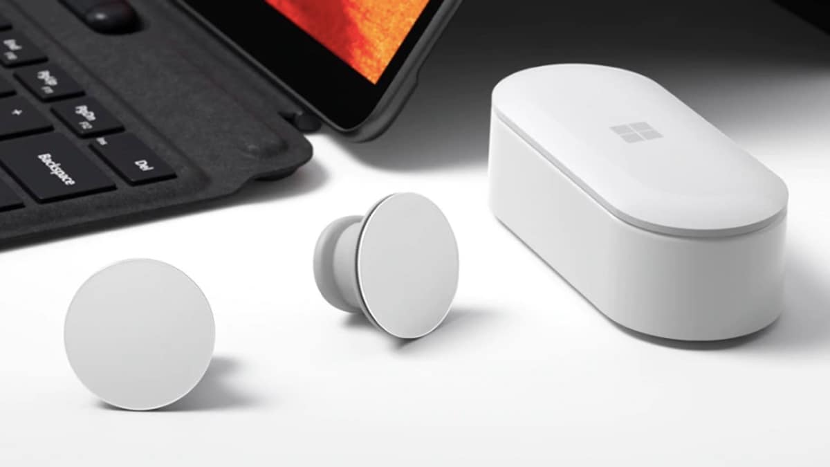 Microsoft Surface Earbuds Launched, the Company's First Truly Wireless Earphones
