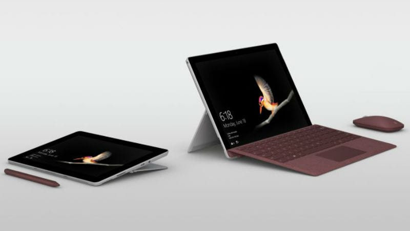 Microsoft Surface Go Budget Windows Tablet With 10-Inch Display Launched
