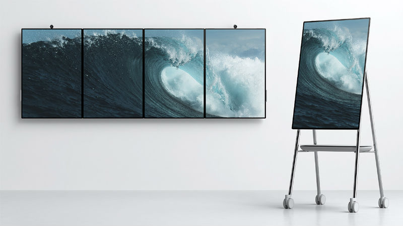 Microsoft Surface Hub 2 With 50.5-Inch 4K+ Display Unveiled