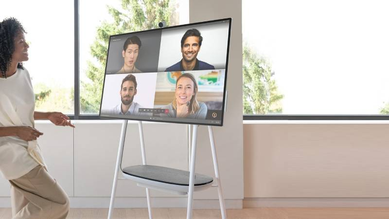 Microsoft Surface Hub 2S 50-inch Digital Collaboration PC for Businesses Launched at $8,999