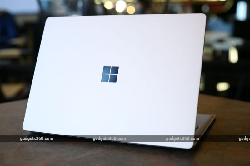 microsoft surface laptop rear ndtv surface