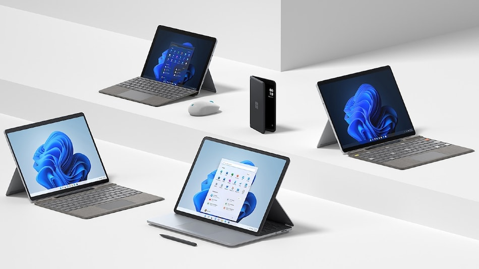 Microsoft Surface Laptop Studio With Unique Hinge Design Unveiled, Surface Pro 8, Surface Duo 2 Launched