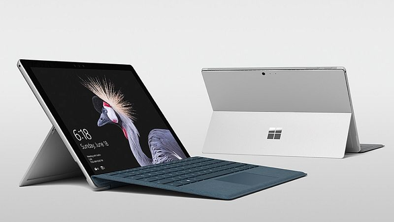 Microsoft Surface Pro With 13.5 Hours of Battery Life, Alcantara Keyboard Launched