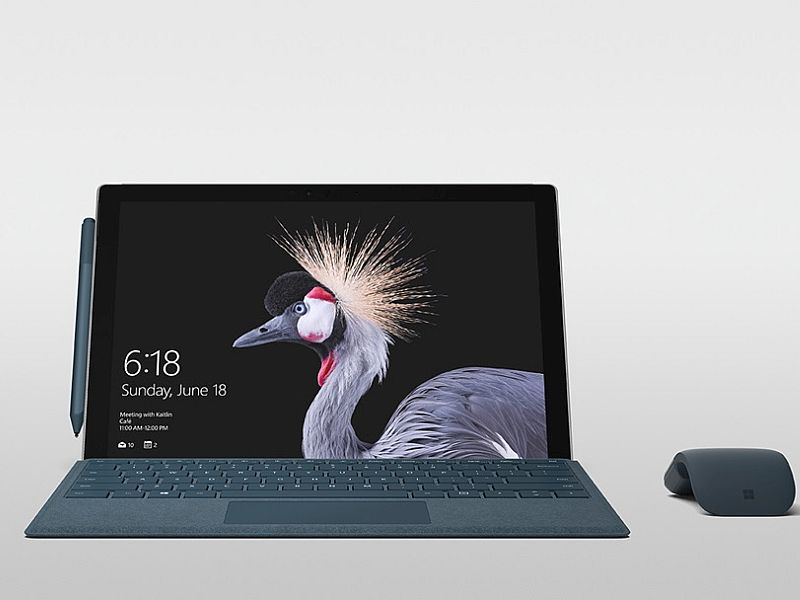 microsoft surface pro screen microsoft