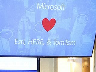 Microsoft Announces Partnerships With TomTom, Here and Esri for Location-Based Services