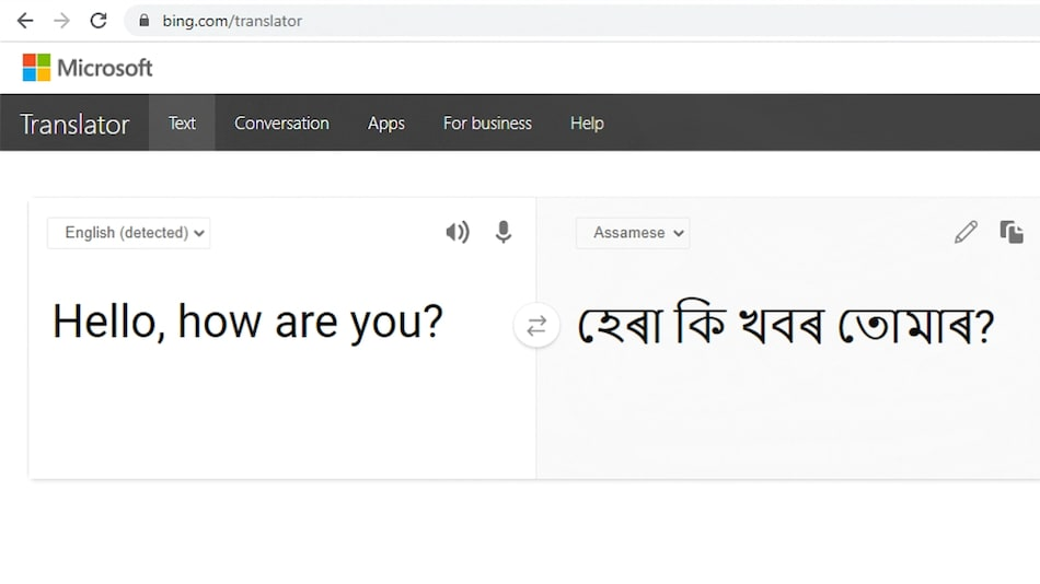 Microsoft Translator Adds Support For Assamese, Now Translates 12 Indian Languages