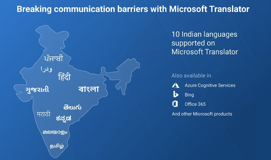 Microsoft Translator Adds Support for Five More Indian Languages