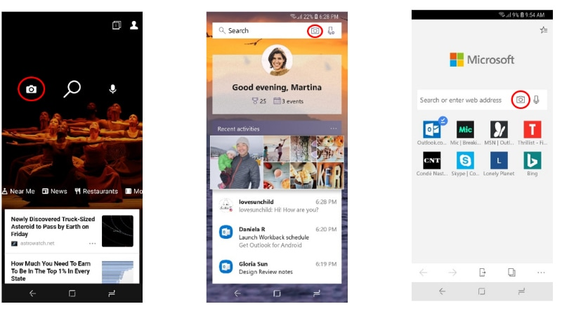 Microsoft Visual Search Comes to Bing, Edge, Launcher Apps