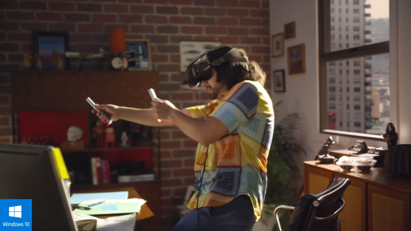 Microsoft appears to have patented an augmented reality wand