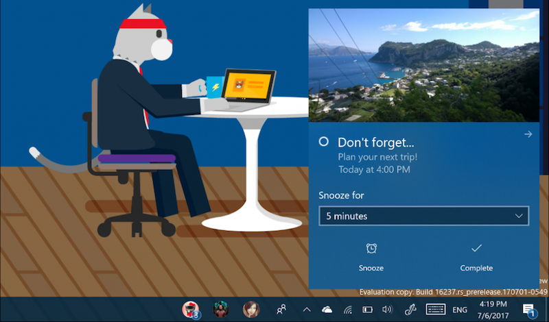 microsoft windows 10 action center windows