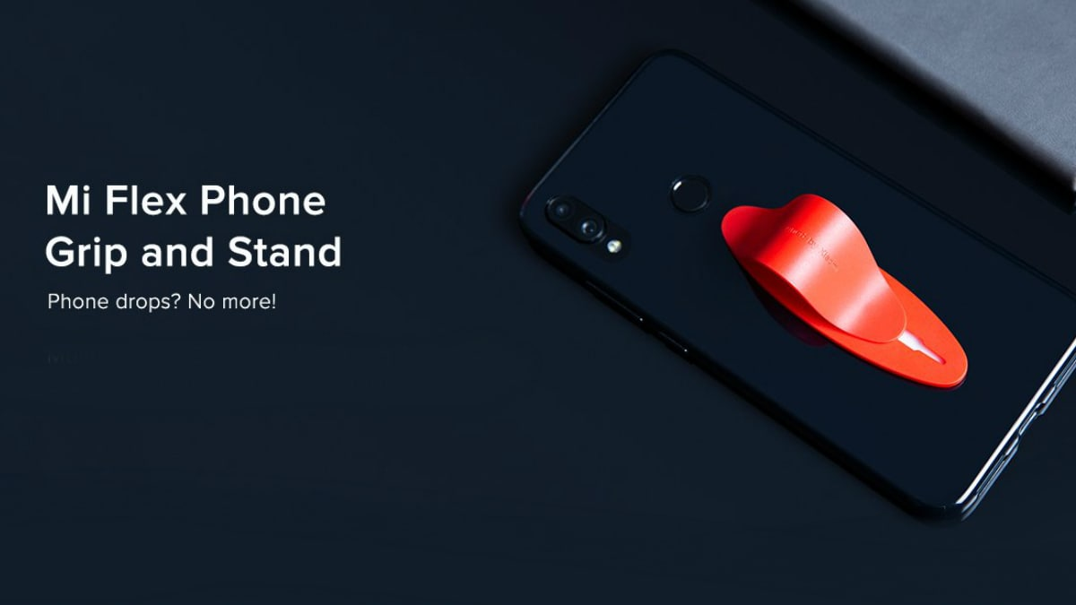 Mi Flex Phone Grip and Stand With 3 Adjustable Levels Launched in India at Rs. 149