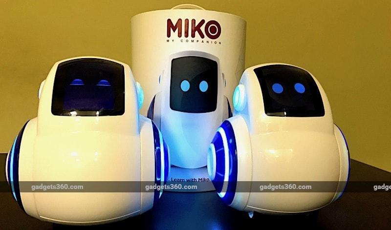 miko emotix robots box gadgets 360 Miko