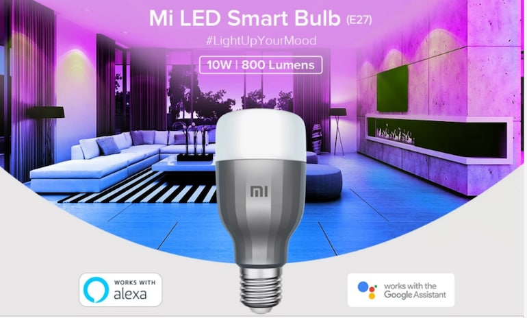 The Xiaomi intelligent bulb control can be controlled on your phone, it starts selling in India