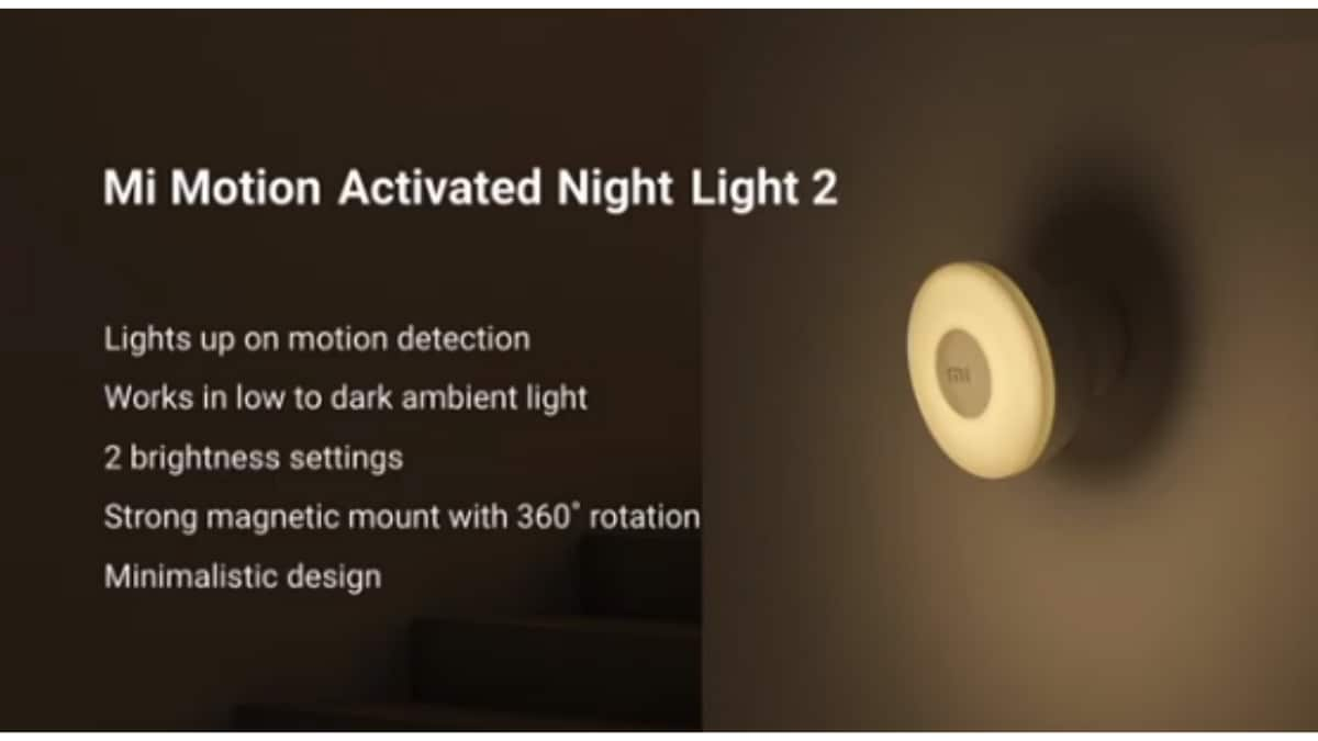 mimotionactivatednightlight2 main Mi Motion Activated Night Light 2 lights up on motion detection