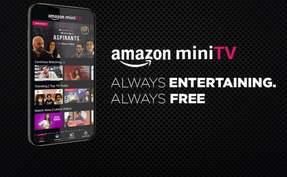 Amazon miniTV In-App Video Streaming Platform Launched in India With Curated Web Series, Tech Videos, More