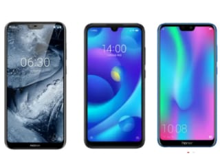 Mi Play vs Honor 9N vs Nokia 6.1 Plus Price Specifications Compared