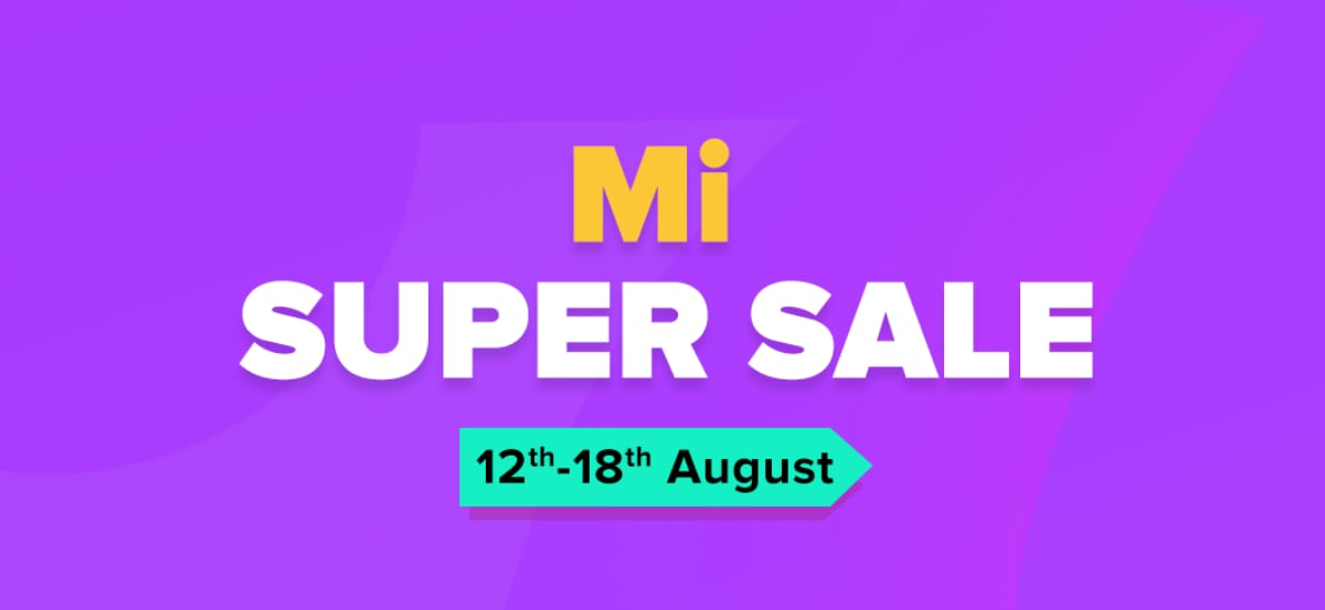 Mi Super Sale Offers Price Cuts on Redmi Note 7S, Redmi 7, Redmi Y3, Mi A2, More