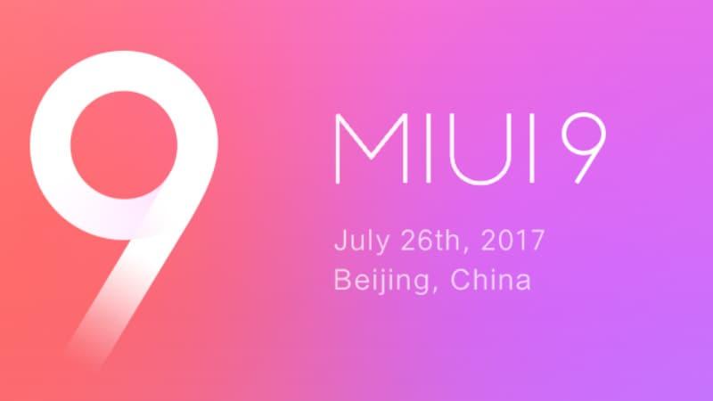 MIUI 9 बुधवार को होगा लॉन्च, इन खास फीचर के साथ आएगा