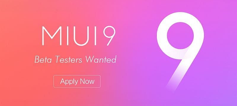 MIUI 9 Update to Hit These Xiaomi Devices; Here's How to Become a Beta Tester