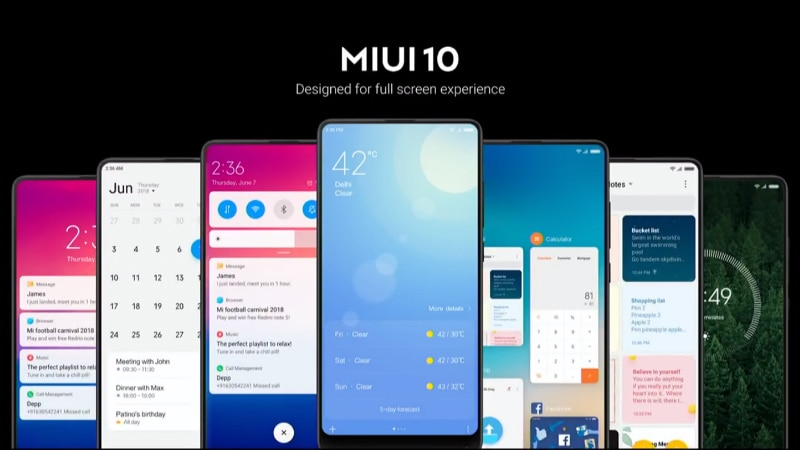 MIUI 10 China Developer ROM Closed Beta Registrations Open for Second Batch of Devices