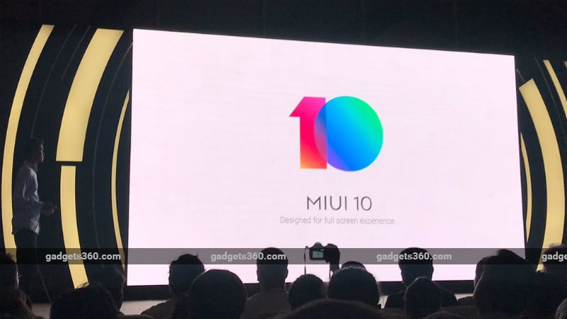 MIUI 10 Global ROM Unveiled With AI Portrait and More; Beta Devices and Timeline Announced