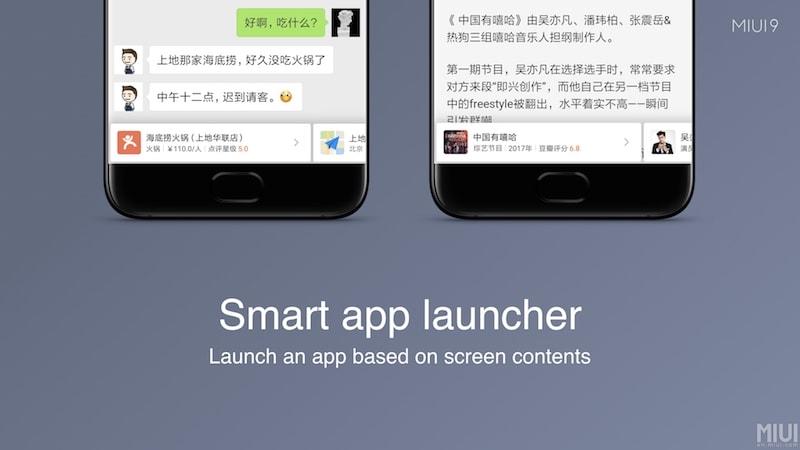miui 9 smart app launcher miui 9