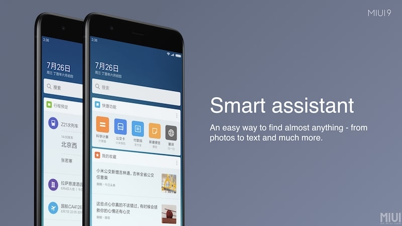 Xiaomi miui 9 global beta rom now rolling out to second batch of miui 9 smart assistant stopboris Images