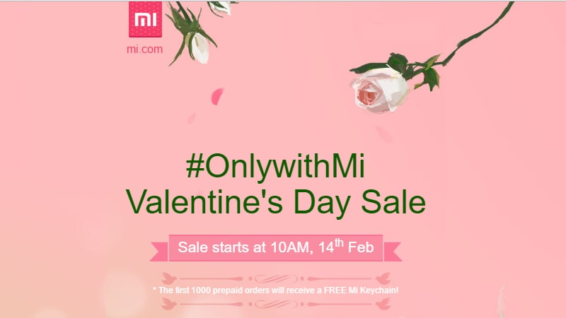 Valentine's Day 2017 Offers: Xiaomi, Apple, Samsung Discounts, and Other Deals