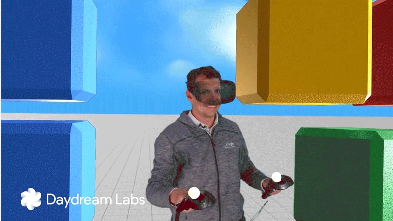 Google's Latest Mixed Reality Tech Reveals Person Behind the VR Headset