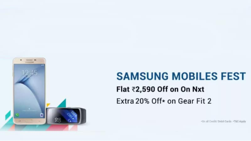 Samsung Mobiles Fest on Flipkart Sees Discounts on Galaxy On Nxt, Galaxy On8, and More