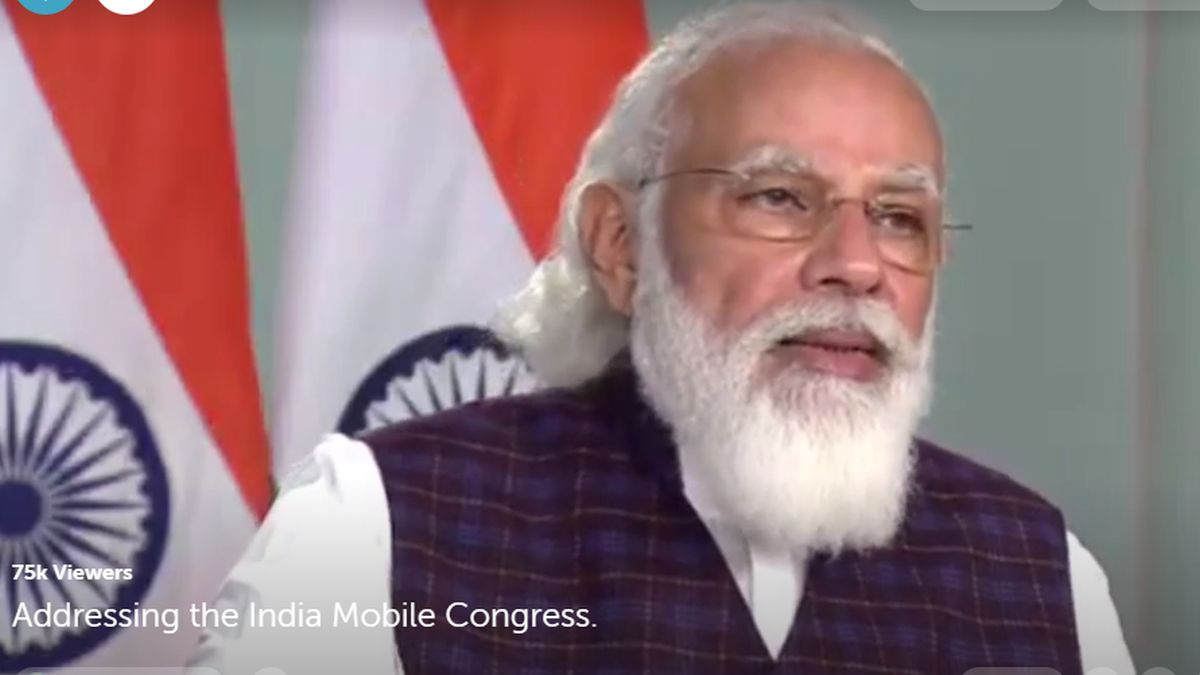 India Emerging as Most Preferred Destination for Mobile Manufacturing: PM Modi at India Mobile Congress