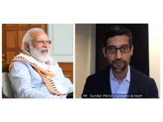 PM Narendra Modi, Google's Sundar Pichai Discuss How Tech Can Transform Lives of Indians