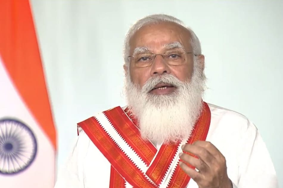 Kindle Version of Swami Chidbhavananda's Bhagvad Gita Launched by Prime Minister Narendra Modi