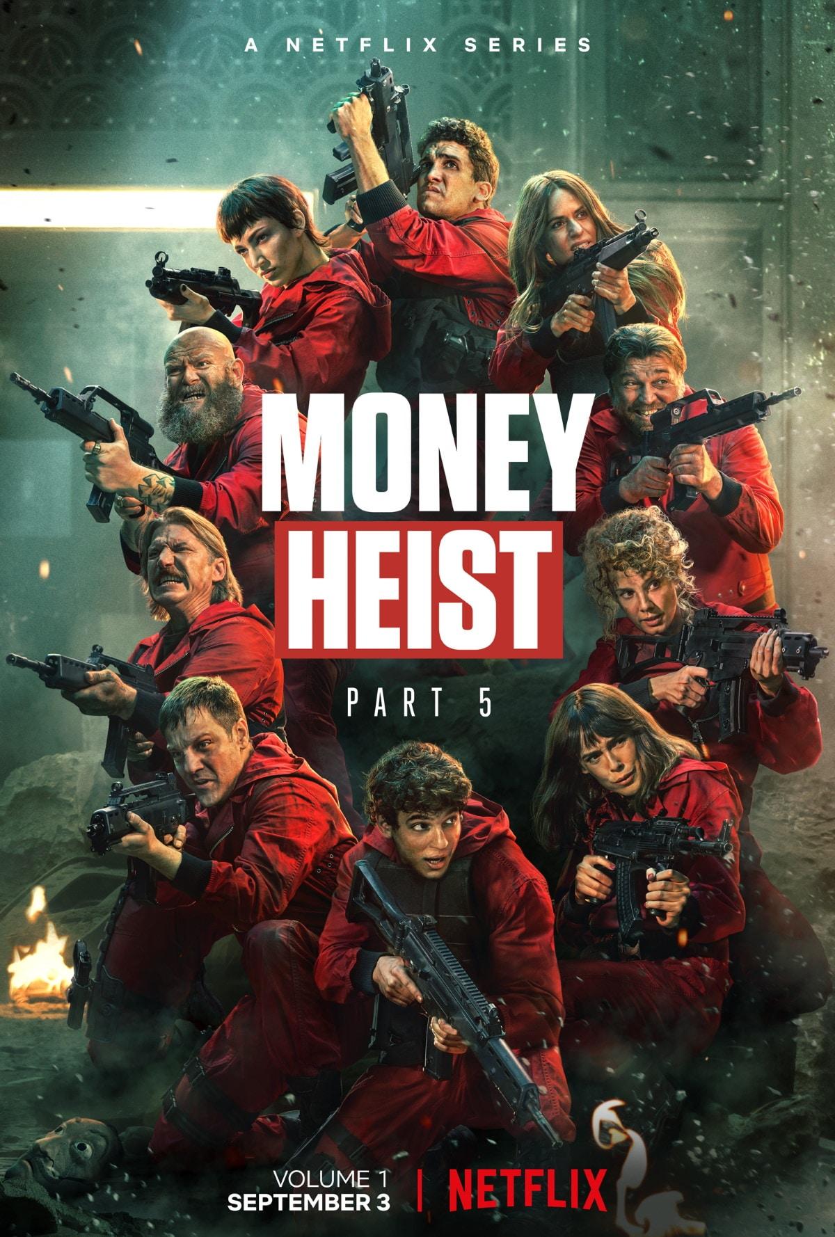 La Casa Di Papel [Money Heist] Season 5